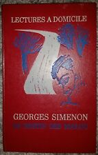 Rare Vintage Book Georges Simenon Commissioner Maigret Old 1972 Destiny Of Malou