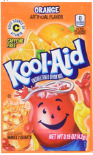 300 ORANGE  Kool Aid Drink Mix Vitamin C popsicle fun