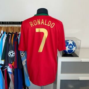 Authentic Nike Portugal Home Football Shirt 2008/2010 - RONALDO 7 - LARGE