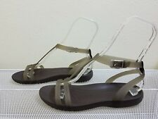 Crocs SEXI Women's Brown Ankle Strap SANDALS Size 9