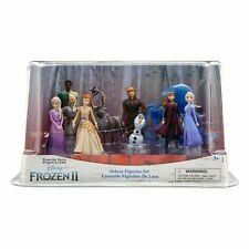 DISNEY : FROZEN 2 : DELUXE FIGURINE PLAYSET (10 figurines)  - New in box
