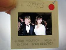More details for original press photo slide negative - andy gibb & victoria principal - 1984