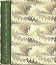 SAWYER FRANK FLY FISHING BOOK NYMPHS & THE TROUT hardback BARGAIN limited