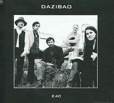 E40 [Digipak] * by Dazibao (CD, 2007, Wallonie Bruxelles Musiques)