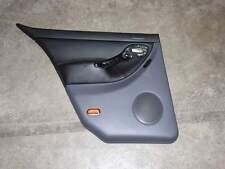 Seat Leon 1M Türverkleidung hinten links Leder schwarz-grau Tür Verkleidung