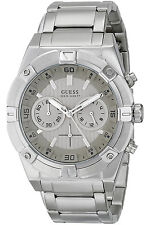 GUESS W0377G1,Men's Chronograph,NEW WITH TAG AND GUESS BOX,SCREW CROWN,100m WR