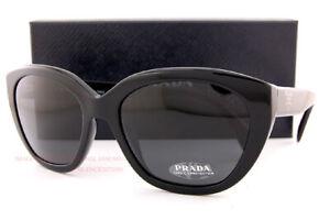 Brand New Prada Sunglasses PR 16XS 1AB 5S0 Black/Gray For  Women
