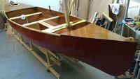 DIY Boat Building Plans for the Fairlight 13 Sailing Canoe
