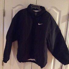 Men's Black Nike Down Filled Coat, size XL