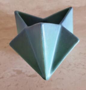 Ruba Rombic Cubist Art Déco Muncie Pottery Star Vase Designed By Reuben Haley