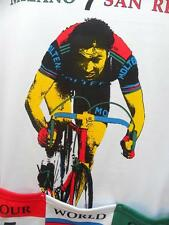 EDDY MERCKX GIORDANA VINTAGE RARE TOUR DE FRANCE CYCLING JERSEY SZ L