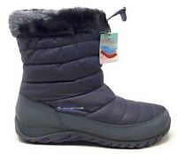 Skechers Womens Descender Alpine Winter Boot Charcoal Grey Size 10 M US