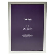 YAL41A4 Silver Plate Executive A4 Luxury Certificate Photo Picture Display Frame