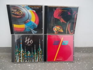 """4 x Electric Light Orchestra CD-""""Out Of The Blue,First Movement,Discovery..."""