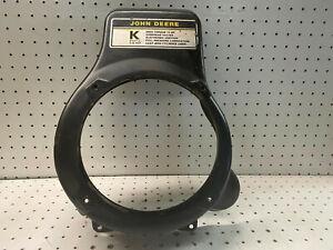 Kawasaki FC420V ES00 14hp John Deere OEM Engine Shroud Cover