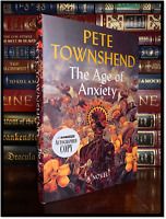 The Age Of Anxiety ✍SIGNED✍ by PETE TOWNSHEND New Hardback 1st Edition Print Who