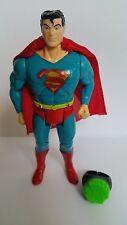 VINTAGE TOY BIZ SUPER HEROES SUPERMAN WITH KYRPTONITE RING LIKE SUPER POWERS