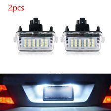 2X 18LED License Plate Light For Toyota Camry Prius Yaris Vitz Avensis 2012-2016
