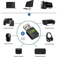 USB2.0 WiFi Bluetooth Dual Band Wireless External Receiver PC Adapte 4E5R H3I9