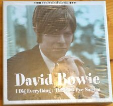 Rare David Bowie I Dig Everything PYE Singles on 3 CDs  6 Tracks MINT Boxset !!