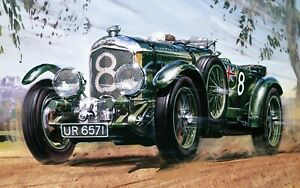 New Release Airfix 1:12th Scale 1930 Bentley 4.5 Litre Supercharged Model Kit.