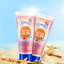 Facial Sun Block Cream SPF30 PA+ UVA UVB Waterproof Moisturizing Sunscreen 80ml