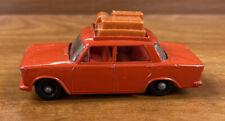 Vintage Matchbox Lesney Fiat 1500 W/Luggage Rack # 54 No Box