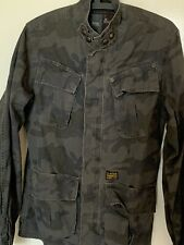 Genuine G-Star RAW Originals Mens's Shirt Top Size Large Camouflage Military