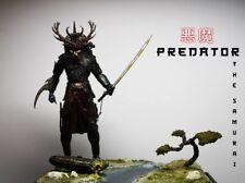 "Custom neca Samurai Predator diorama ""7"" Beserker predator custom"