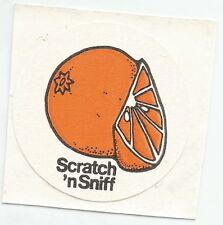 Vintage: 3M  Scratch & Sniff Sticker -  ORANGE