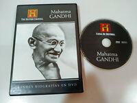 Mahatma Gandhi grandes Biografias History Channel - DVD Español Ingles - AM
