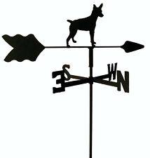 Rat Terrier Garden Weathervane Wrought Iron Look Made In Usa Tls1041In