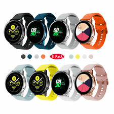 Silicone Sport Band Strap 20mm For Samsung Galaxy Watch 42mm Active 2/1 40/44mm