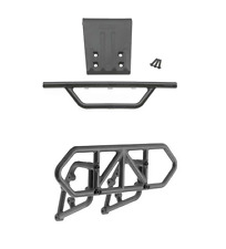 New Traxxas Slash 2wd RPM Black Front & Rear Bumper Set 81002 80952 XL-5 VXL