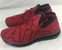 Nike Air Max Flair UpTempo Athletic Running trainer Red Black 942236-600  Size 10