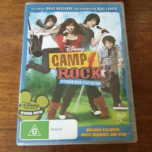Camp Rock Extended Edition DVD R4 Like New! FREE POST