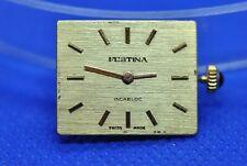 Original FESTINA ETA 2412 movement running & dial (1/3524)