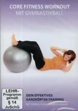 Core Fitness Workout mit Gymnastikball, 1 DVD