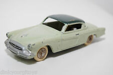 DINKY TOYS 24Y 24 Y STUDEBAKER COMMANDER TWO TONE GREEN EXCELLENT