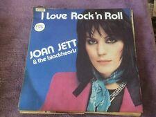 """45 T SP JOAN JETT & THE BLACKHEARTS """"I LOVE ROCK' N ROLL"""""""