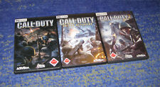 PC SPIELE SAMMLUNG - CALL OF DUTY 1 + UNITED OFFENSIVE - FSK 18 ego shooter