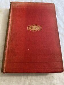 A Sydney-Side Saxon Rolf Boldrewood 1897 Hardcover Book 1st Edition Antique