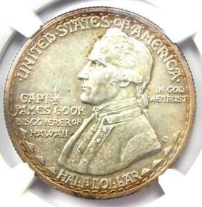 1928 Hawaiian Half Dollar 50C Coin - Certified NGC Uncirculated Details (UNC MS)