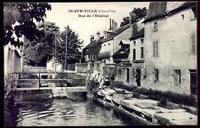 cpa 21 Is-Sur-Tille . rue de l'Hôpital . Côte-d'Or . Bourgogne