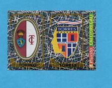 PANINI CALCIATORI 2003-04- Figurina n.734- TORINO+TORRES -SCUDETTO-NEW+PUNTO