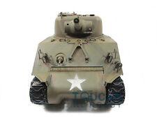 100% Metal Mato 1/16 M4A3 Sherman RC Tank Infrared Recoil Army Green 1230 KIT