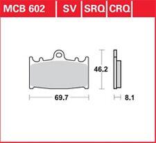 KR Bremsbeläge Satz V/H MCB 602 KAWASAKI ZZR 500 91-96...Brake Pads Set F/R