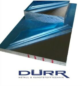 Aluminiumplatte AlMg3 Abmessungen wählbar Aluplatte Alu Blende Blech Platte Walz