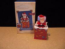 2004 POP! GOES THE SANTA Jack in the Box Memories Series Hallmark Ornament #2