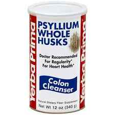 Yerba Prima Psyllium Whole Husks, Colon Cleanser 12 oz